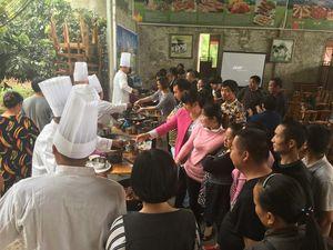 2017年市中区中式烹调师培训班实操练习