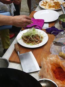 2017年夹江县中式烹调师学员实操练习